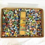 Collection Of Vintage Marbles & Shooters
