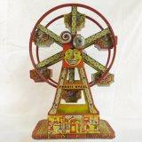 J. Chein Tin Litho Ferris Wheel - Working