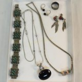 Mexican & American Indian sterling silver jewelry