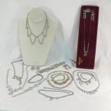 Vintage and antique rhinestone jewelry