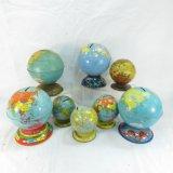 Vintage Tin Globe Banks, J. Chein & Others