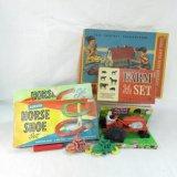 Vintage Auburn Farm Toys In Original Boxes