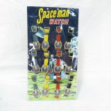 Spaceman Watch Retail Display With 12 Toy Watches