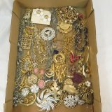 Vintage jewelry many signed – Trifari, S Coventry