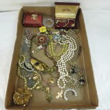 Vintage and antique jewelry -some gold filled
