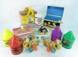 Vintage Crayon Boxes Fisher-Price Toys