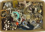 19 lbs of costume jewelry most unmatched or broken