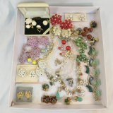 Vintage jewelry grouping - some sets- some signed
