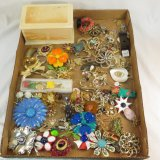 Vintage stick pins and brooches