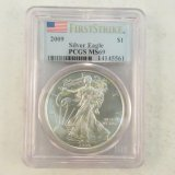 2009 American Silver Eagle First Strike PCGS MS69