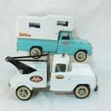 Tonka AA Wrecker Truck & Camper Pickup Truck