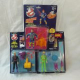 3 1980s Real Ghostbusters action figures MIP