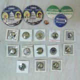 Antique and vintage political buttons