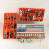 GI Joe Collector Case With 22 Figures