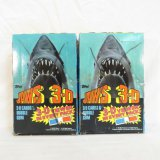 Two Boxes Of Topps Jaws 3D Cards