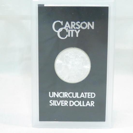 1883 CC Morgan Silver Dollar UNC in GSA case