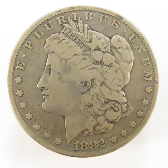 1882 Morgan Silver Dollar