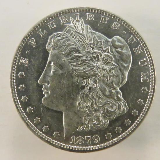 1879 O Morgan Silver Dollar AU