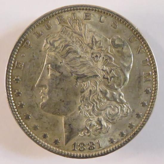 1881 Morgan Silver Dollar