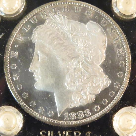1883 O Morgan Silver Dollar DMPL