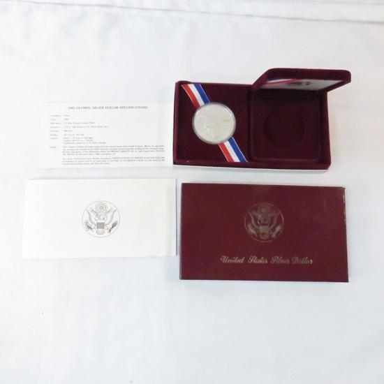 1983 S Olympic Silver Dollar Proof