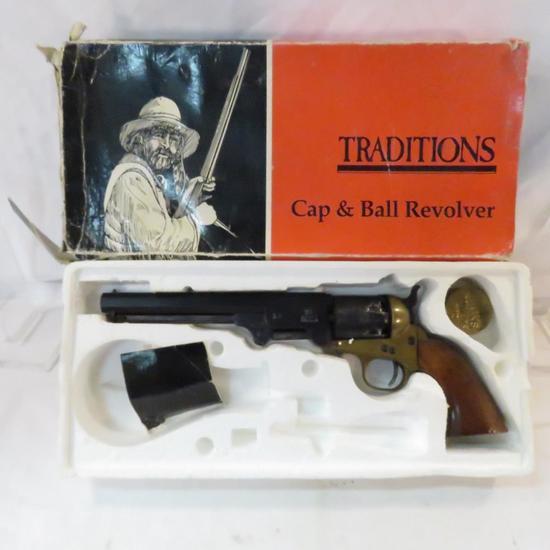 1851 Colt Navy .44Cal Black Powder Revolver REPRO