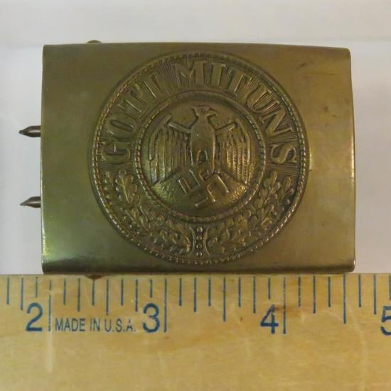 WWII German Gott Mit Uns belt buckle