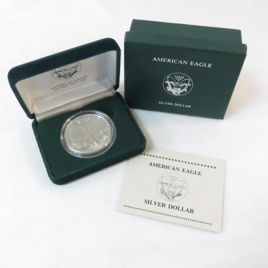 1989 American Silver Eagle Proof