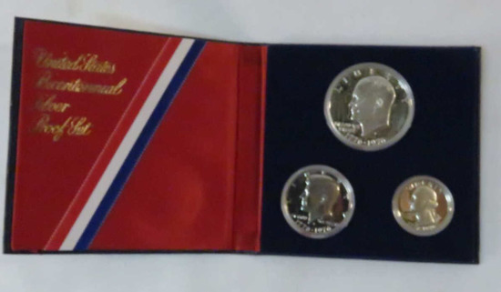 1976 3 Coin Silver Proof Set