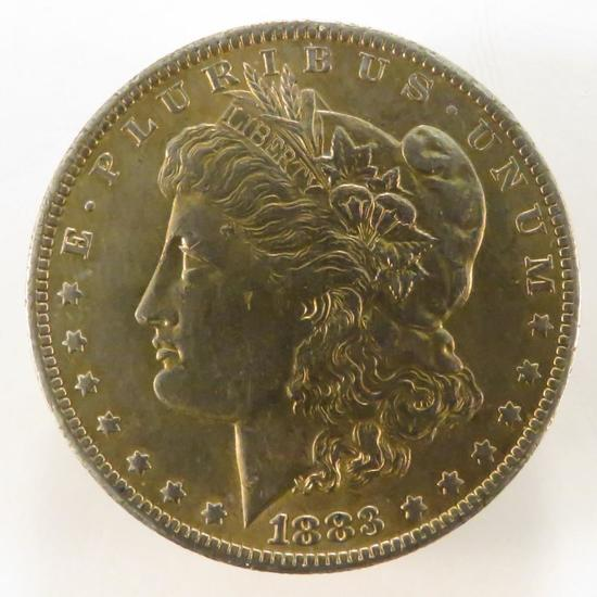 1883 O Morgan Silver Dollar