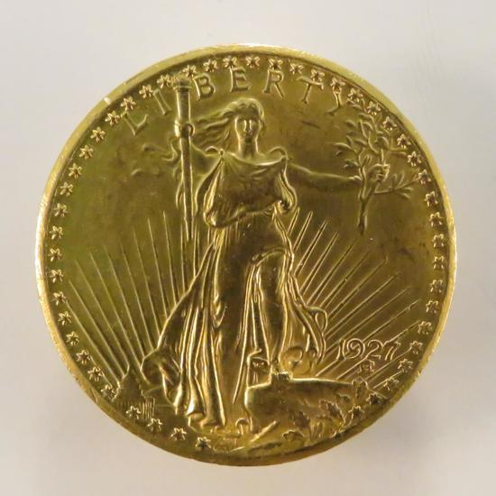 1927 $20 Gold St Gaudens Double Eagle