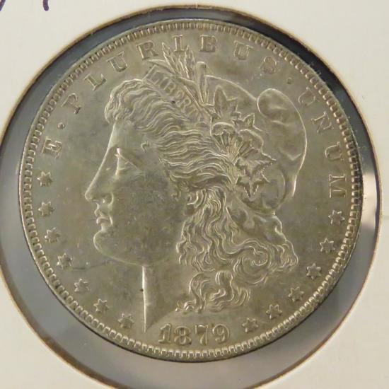 1879 Morgan Silver Dollar AU