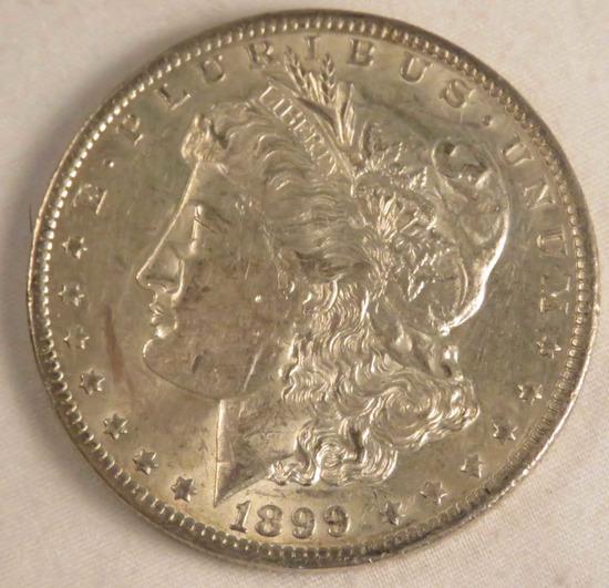 1899 O Morgan Silver Dollar