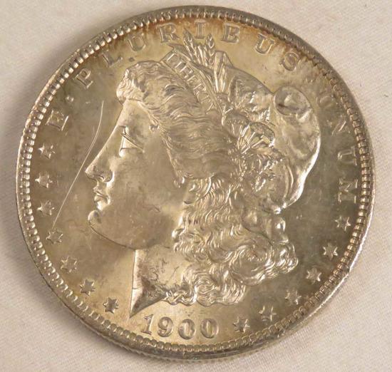 1900 O Morgan Silver Dollar AU