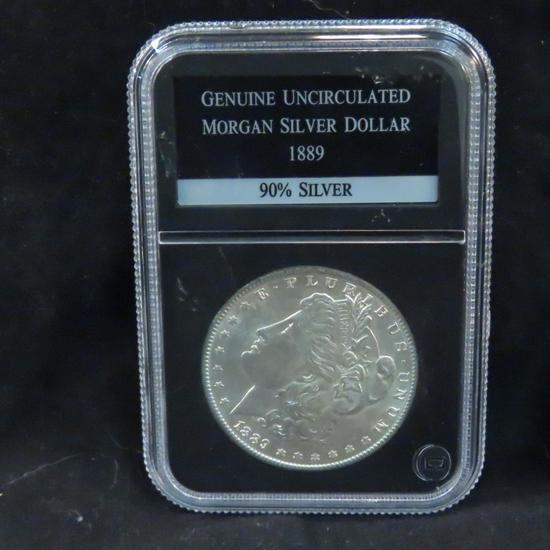 1889 Morgan Silver Dollar PCS Uncirculated