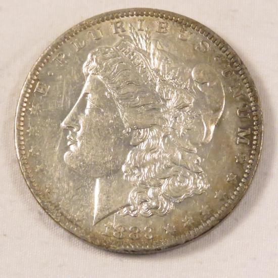 1883 O Morgan Silver Dollar