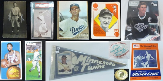 Online Only Sports Cards and Collectibles