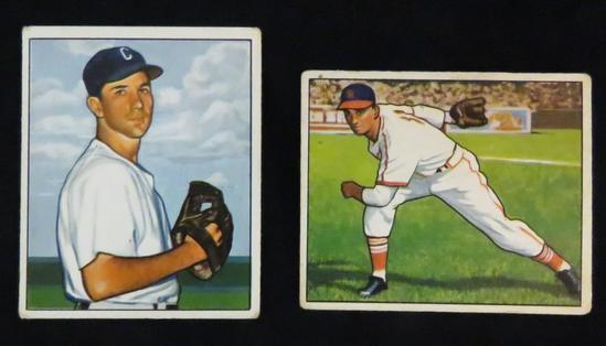 Wight & Pollet 1950 Bowman Crease Free Cards