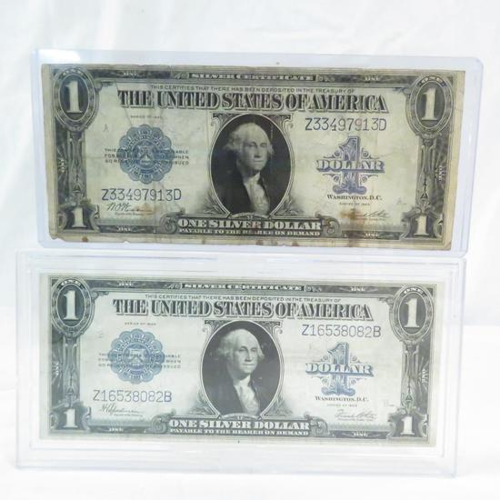2 1923 $1 Large Notes
