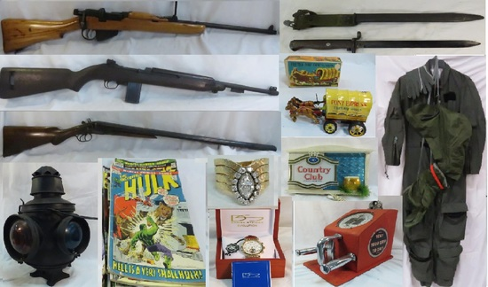 3-28-19 Simulcast Auction- Firearms, Toys, Jewelry