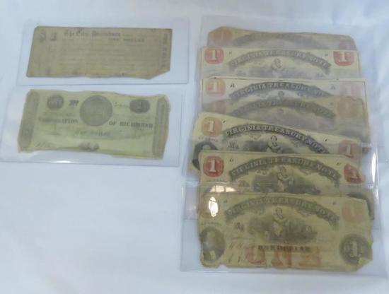 Civil War Era Notes - most are Virginia