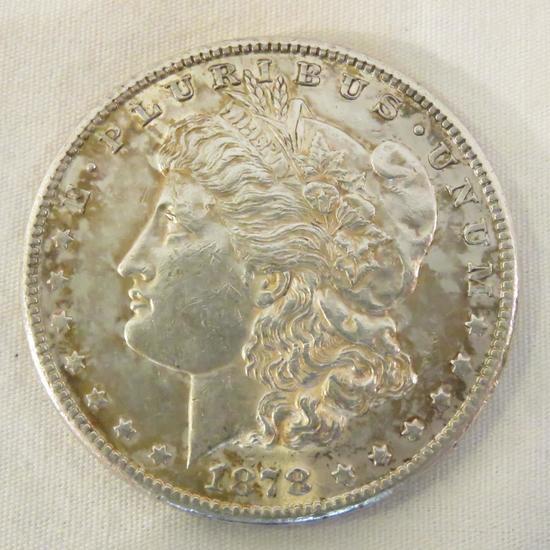 1878 S Morgan Silver Dollar