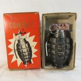 Prince Combat Grenade table lighter with box