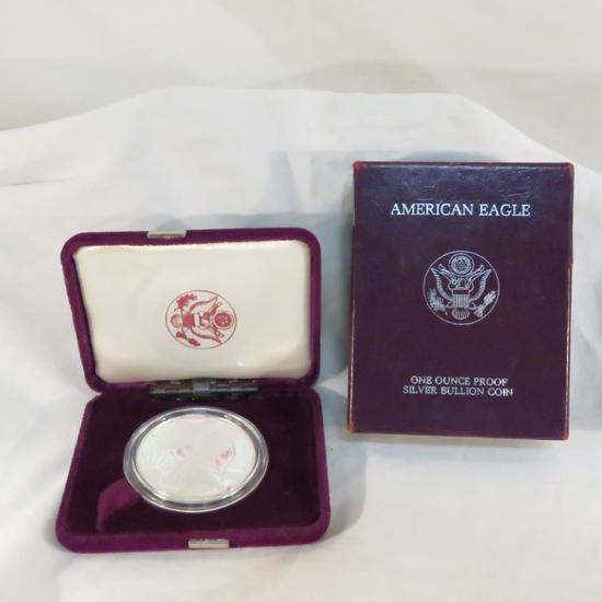 1987 S American Silver Eagle Proof