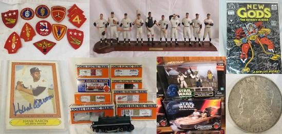 12-12-19 Coins, military, baseball, toys & more