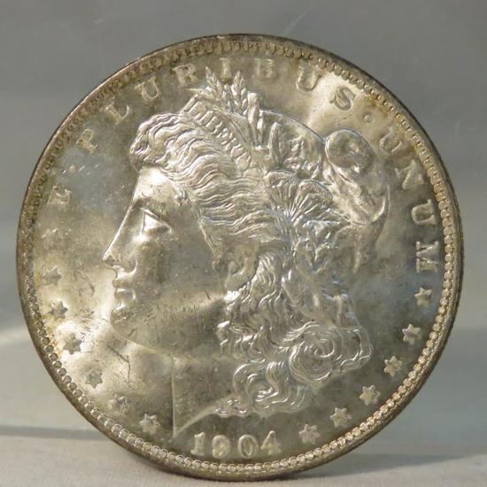 1904 O Morgan Silver Dollar