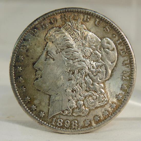 1898 O Morgan Silver Dollar