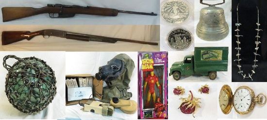 2-13-20 Firearms, military, coins, jewelry & more