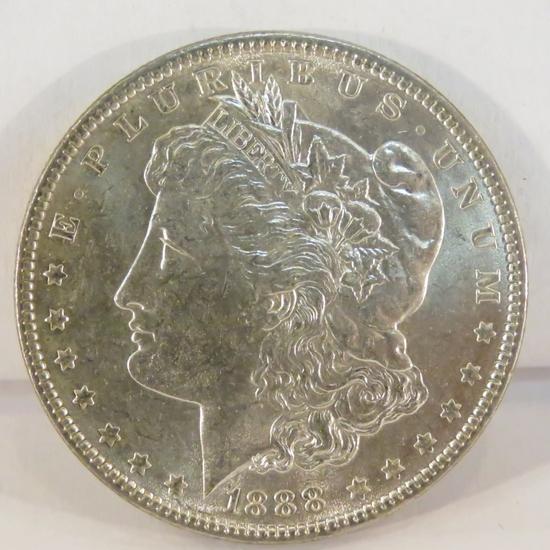 1888 Morgan Silver Dollar BU