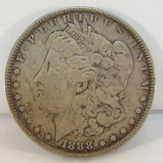 1888 O Morgan Silver Dollar